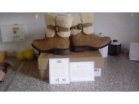 Boxed brand new size 4 1/2 ugg boots