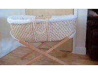 Moses basket £5.00 or nearset offer