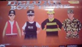 Boys dress up box age 3/4