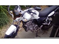 Zontes Panther 125cc Motorbike 2016 Plate - Plus extras