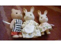 Sylvanian Families Bakery and Characters