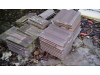 Roofing tiles job lot to clear everything you see in picture approx 50-60