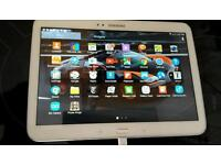 Samsung tablet 3 10.1 with sim card (no marks)