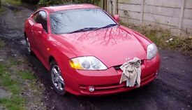 Hyundai coupe 1.6 12months mot.Sun roof ,Kenwood cd player