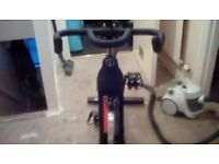 Top of the range exercise bike.has no speedometer but really nice one