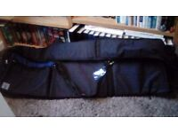 Piano bag electric padded with handles pockets