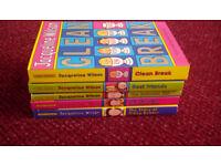 8 different Jacqueline Wilson books