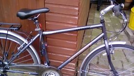 Raleigh Pioneer U1 bike. . In a very good condition. Has been serviced recently. Understated looking