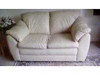 Lazy-Boy 2-seater leather sofa.