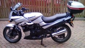 Kawasaki GPZ500S. Low mileage 11 months mot. 2 owners from new.