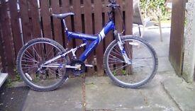 Boys bike,blue