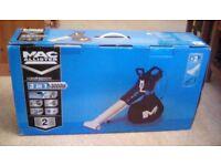 MACALLISTER 3-IN-1 3000W GARDEN BLOWER VAC - NEW IN BOX