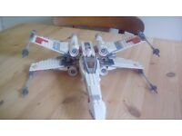 Lego Star Wars X Wing Fighter with moveable wings