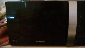 Black Samsung microwave