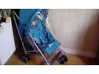 EXCELLENT, SPOTLESSLY CLEAN PUSHCHAIR WITH RAINCOVER. SUIT 9Mths TO 3 Yrs***FREE DELIVERY HULL***