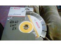 Bosch 230mm universal grinder blade brand new in box