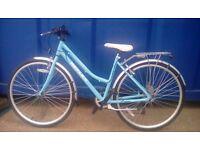 Ladies city reflex bike