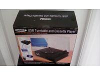 USB Turntable & CAssette Converter