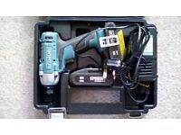 ERBAUER 1604IPD IMPACT DRIVER WITH 2 X BATTERIES, CASE AND CHARGER - RECENTLY PAT TESTED
