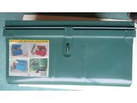 Fireproof and waterproof steel storage chest,