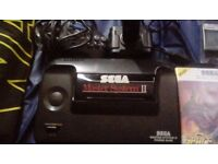 Sega master system with games and a controller great condition