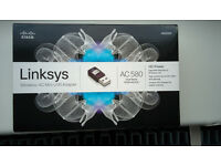 Linksys AE6000 AC580 Wireless-AC Mini USB Adapter SKU AE6000-EU **NEW**