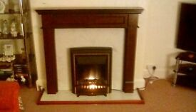 Fire place complete kit