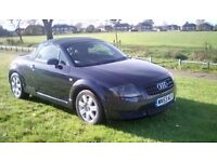 2003 AUDI CONVERTIBLE TT 1.8T ROADSTER 10 SERVICE STAMPS IN IMMACULATE CONDITION