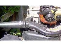 Petrol leaf blowerfor spares or repairs