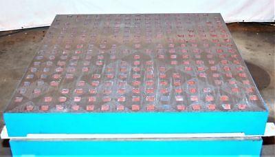 "(6) New Acorn Style Welding Tables 60"" x 60"" x 6.5"" (#28413)"
