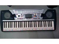 Yamaha PSR-280 MIDI Electronic Music Keyboard 61 Key Piano Synthesiser