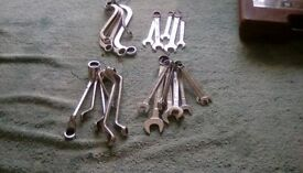 Drop forged spanners