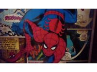 Spider-Man Large Canvas Picture New and Sealed