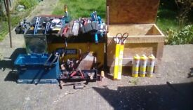 Engineering/plumbing tools for sale.