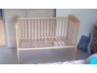 Mamas and papas cot **price reduced for urgent sale**