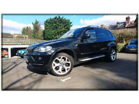 BMW X5 E70 3.0 30d SE 5dr Black. Comfortable, Reliable and Clean family car.