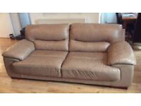 Leather Sofa (like new)