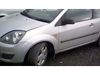 Ford Fiesta 2008 with alloys complete car