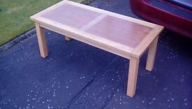 Solid wooden coffee table - reduced