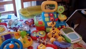 Bundle toys good condition fews books too