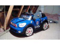 Kiddies battery car