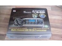 Cb transceiver tcb line 811 FM/am tti with mic