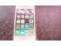For sale is a 4,s iphone in good condition its wite on 02 ,+ tex