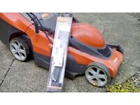 Flymo chevron lawn mower With new blade and black and decker hedge cutter