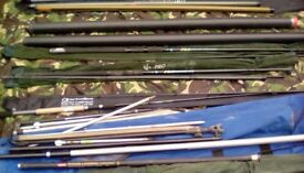 Fishing rods/tackle