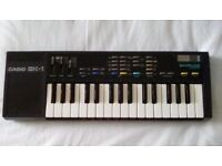 Rare casio SK-1 1985 sampling mini keyboard
