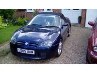 MGTF 1.6 2005, Only 36,700 miles.