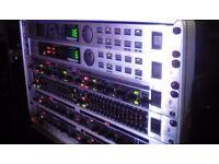 Behringer DSP rack