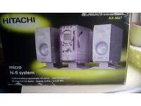 Hitachi hi fi system