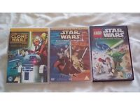 Star Wars DVDs - childrens